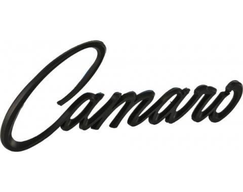 Camaro Fender Emblem, Stick On, Matte Black