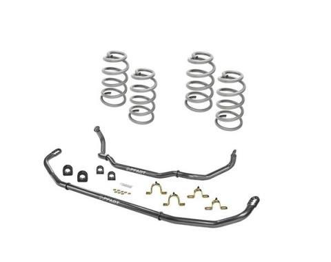 Camaro Sway Bar Set And Lowering Spring Suspension Package, V8, 2012-2015