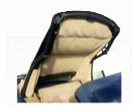 Camaro Convertible Top, Headliner, Black (2-Piece), 1991-1992