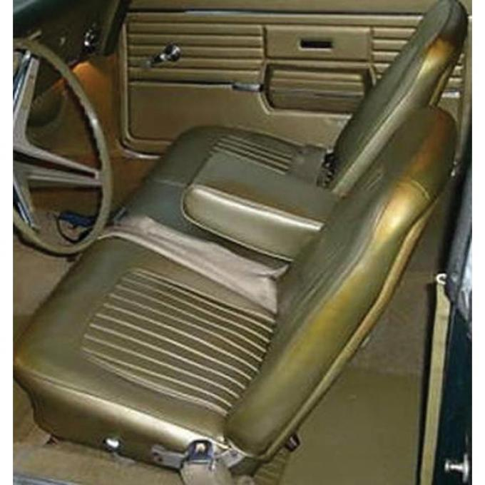 Distinctive Industries 1967-68 Camaro Standard Coupe/Convertible Front Bench Seat Upholstery 072033