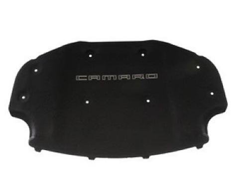Camaro Underhood Liner, Black, With Camaro Logo, 2012-2015