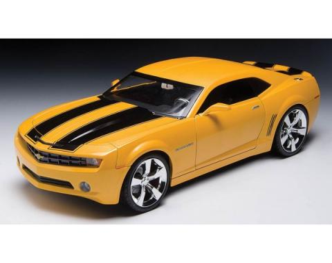 Camaro Die-Cast Model, 2009 Concept Car, Yellow, With Black Stripes