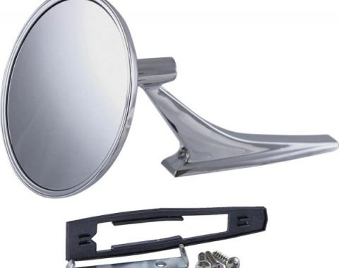 Firebird Outside Door Mirror, With Mounting Kit, 1967