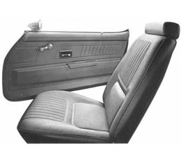 Distinctive Industries 1970 Camaro Standard Front Bucket Seat Upholstery 072595