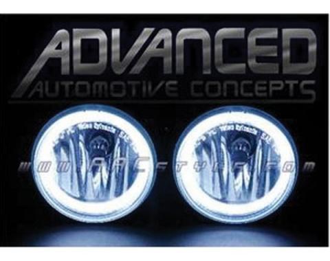 Camaro Fog Light Halo Kit, CCFL, 2010-2013