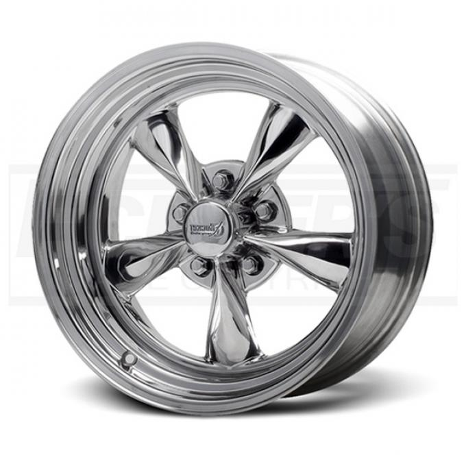 Camaro Polished Fuel Wheel, 15x8, 5x4 3/4 Pattern, 1967-1981