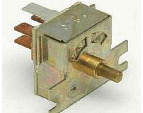 Camaro Heater Blower Switch, For Cars Without Air Conditioning, 1982-1992