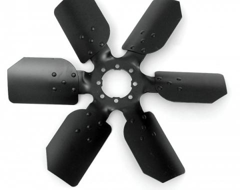 "17"" Steel Fan, 6-Blade, Clutch Type"