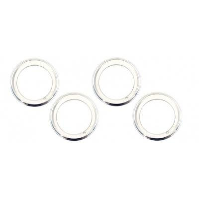 Camaro Rally Wheel Trim Ring Set, 15 x 7, With Inside Style Clips, 1969-1981