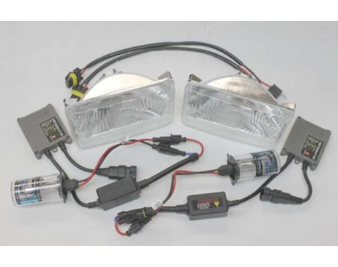 HID Headlight Conversion Kit, 1982-1992