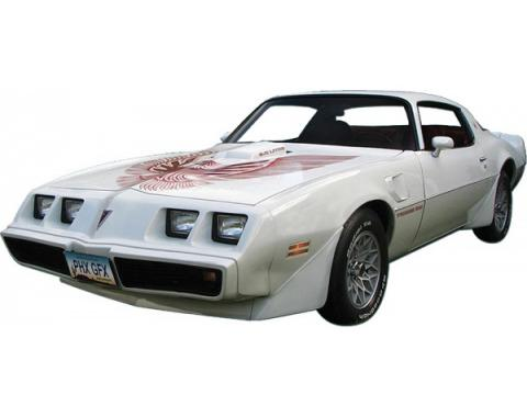 Firebird Decal Set, Two Color, Trans Am, 1981