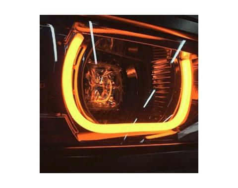 "Camaro LED Accent DRLS Flexible Strips, 18"", 2010-2015"