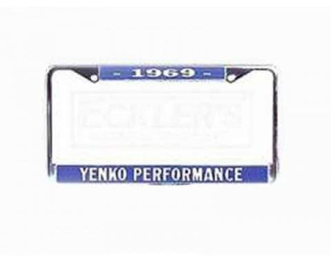 Yenko Performance License Frame, 1969