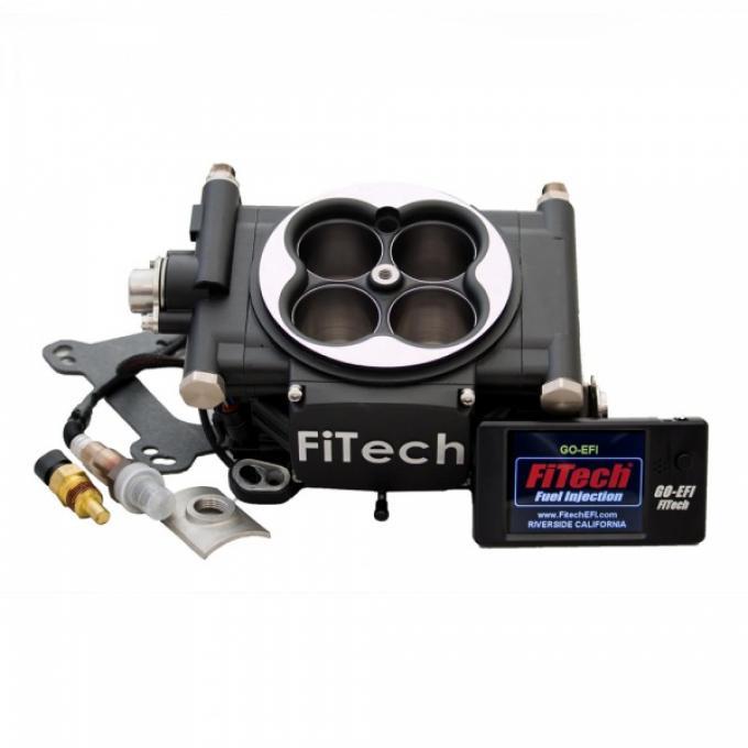 FiTech Fuel Injection 600 HP Basic Kit,  Matte Black