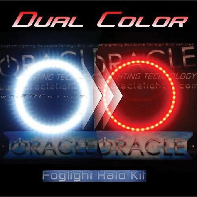Camaro Fog Light Halo Kit, SMD, Dual Color, 2010-2013