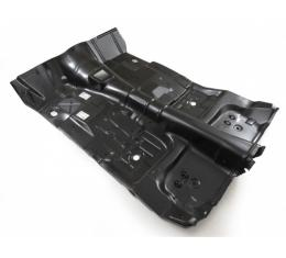 Camaro Full Floor Pan Assembly With Toe Board For Manual Transmission, 1975-1981