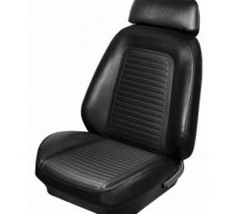 TMI Premium Sport X Front Seat Front Upholstery Kit | 46-80300K Camaro 1969