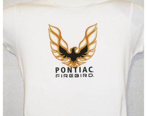 Ladies Pontiac Firebird T-Shirt, White
