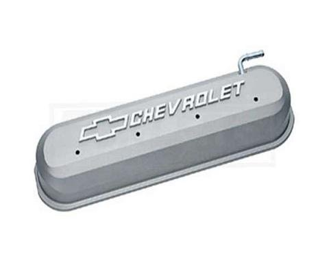 Firebird LS V8, Valve Cover, Cast Gray With Raised Emblems, 1967-2002