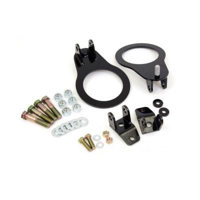 UMI Performance Rear Coilover Kit, Brackets Only- Black Bolt-In | 2045 Camaro 1993-02