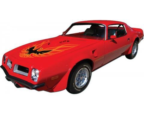 Firebird Decal Set, Without Hood Bird, Trans Am, 1973-1978