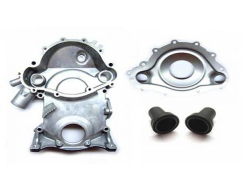 Firebird Timing Chain Cover Kit, All V8, 1968-1979