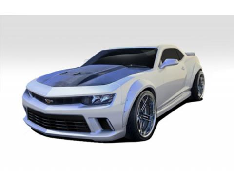 Camaro Duraflex GT Concept Wide Body Kit, Extreme Dimensions, 8 Piece, 2014-2015