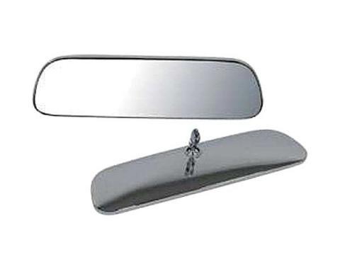 Camaro Interior Rear View Mirror, Standard, 8 Inch, Chrome,1967-1969
