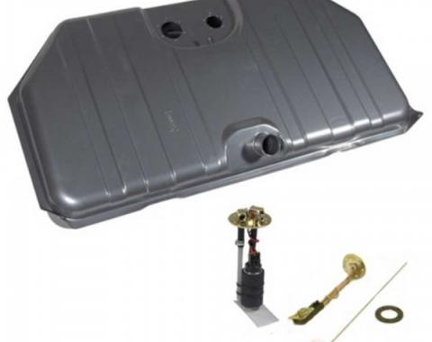 Gas Tank Kit, EFI, Narrowed Corner, 67-68