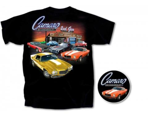 Camaro Second Gen Garage T-Shirt