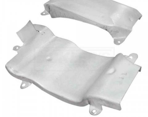 Firebird Ram Air Intake Crossover Cover, 450CI And 455CI, 1969-1971
