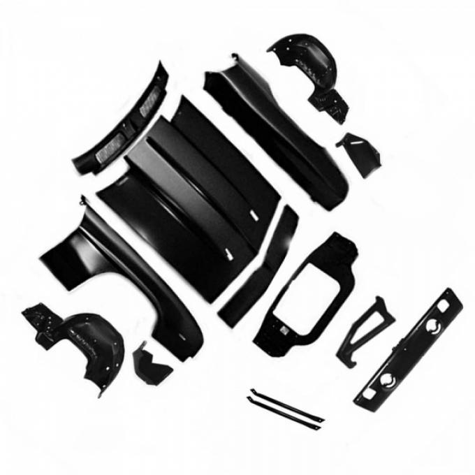 Camaro-1969 Complete Front End Sheet Metal Kit