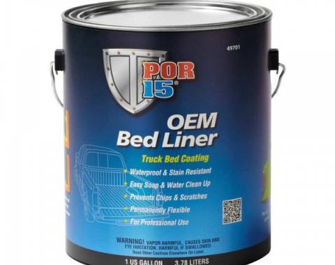 POR-15® OEM Bedliner Truck Bed Coating, Black, Gallon