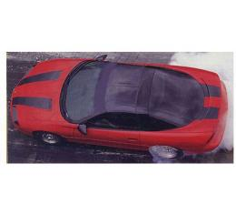 Camaro Stripe Kit, For Cars Without Super Sport Or T-Top Option, 1993-1997