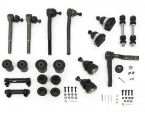 Camaro Suspension Overhaul Kit, Front End, Deluxe, 1971-1972