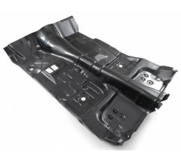 Camaro Full Floor Pan Assembly With Toe Board For Automatic Transmission, 1975-1981