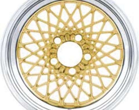 "Firebird GTA Wheel, 16"" x 8"", Gold, 1987-1992"