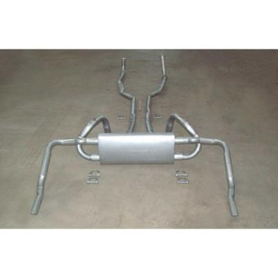 Exhaust System, Big Block, Original Style, With Polished Tips 1970-1972