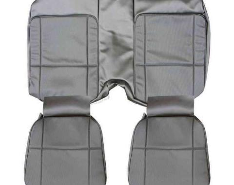 Distinctive Industries 1977-78 Camaro Standard Coupe Rear Seat Upholstery 073049
