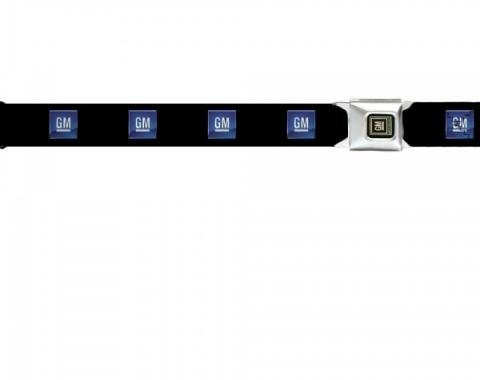Seat Belt Belts, GM Logo Buckle, Logo On Belt