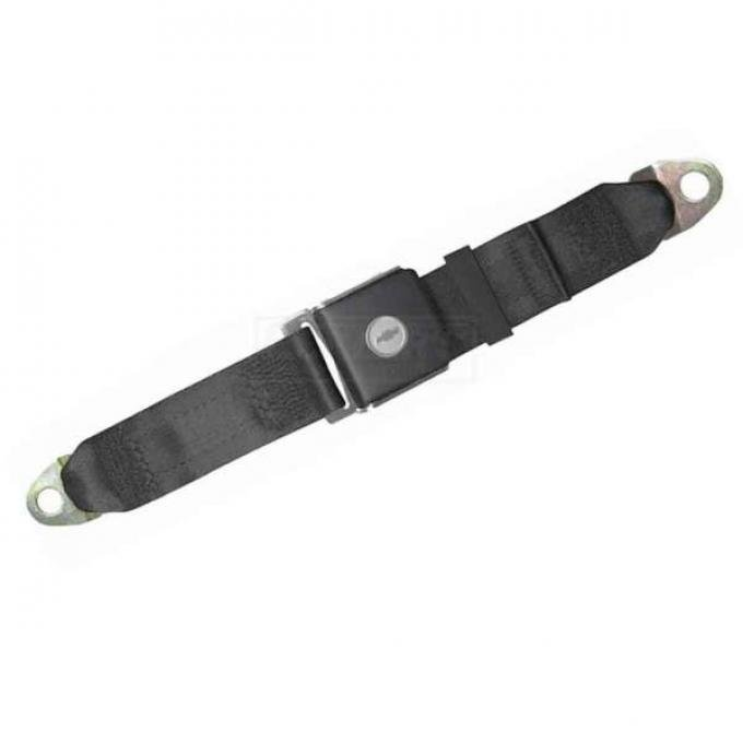 "Seatbelt Solutions 1967-1972 Camaro Lap Belt, 60"" with Bowtie Lift Latch, Rear"