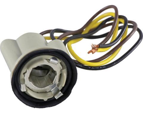 Firebird Parking Lamp/Turn Signal Socket, 3-Wire 1967-1981