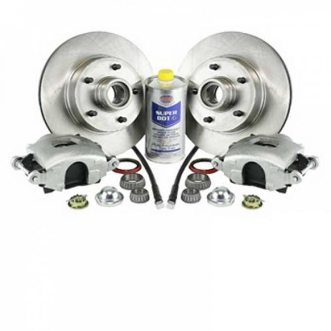 Legend Series Fr Disc Brake Refresh Kit, 70-77