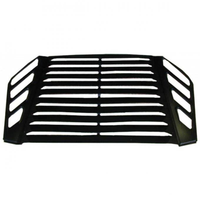 Firebird Louvers, Rear Window, Aluminum, Without Third Brake Light, 1982-1992