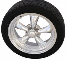 "Torq Thrust II Polished 18"" Wheels & Nitto Motivo Tires, Mounted & Balanced Pkg."