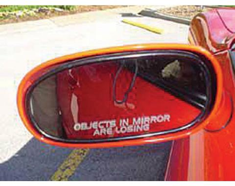 Camaro Mirror Decal, 1967-2002