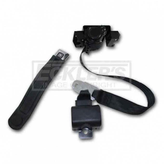 Seatbelt Solutions 1993-2002 Camaro Coupe, 3 Point Front Belt Set Single Retractor