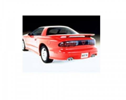 Firebird Borla Exhaust System, Single Cat Back Adjustable, V8, 1993-1995
