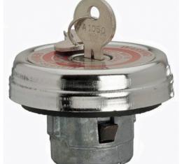Camaro Gas Cap, Shallow Cam Style, Locking, 1969-1970
