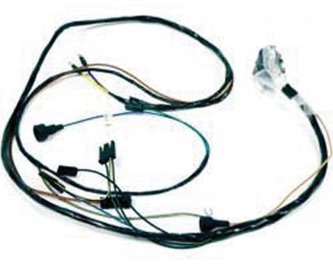 Firebird Engine Wiring Harness, 6 Cylinder, Manual Transmission, With A/C 1969